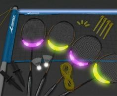Badminton at night anyone?