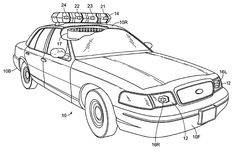 Marked Police Cars Coloring Pages