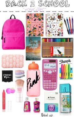 think up: hey hoy las traigo mi -back 2 school essentials- ... #backtoschool