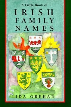 Cover image for A little book of Irish family names