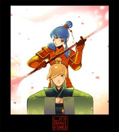 General (Marinette) Cheng of House Cheng & Prince Adrien the 7th Son of Emperor 黑蛾 (Black Moth).