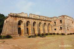 Architectural View of Hindola Mahal