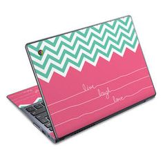 Acer Chromebook C720 Skin - Live Laugh Love