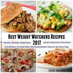 Favorite Weight Watchers Recipes 2017