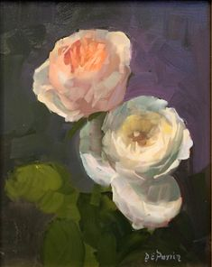 Flower Art, Art Flowers, Garden Painting, Fine Art Paintings, Floral Paintings, Cool Art, Awesome Art, Color Of Life, Online Gallery