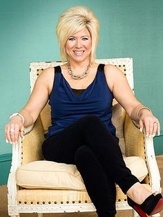Even though she's not really a celebrity, her gift is truly amazing and her show makes me cry every time.  Theresa Caputo