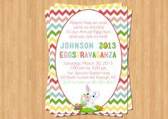 Egg Hunt Invite