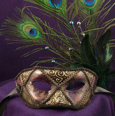 Old Orleans Mardi Gras Mask - etsy.com