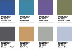 Pantone Color of the Year 2018 - Color Palette Intrigue