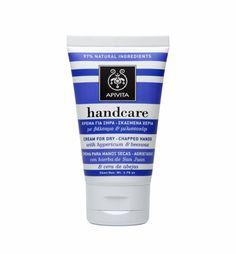 APIVITA Moisturizing Hand Cream With Hypericum & Beeswax | For Dry & Chapped Hands