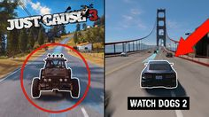 Watch Dogs 2 vs Just Cause 3 COMPARISON (2016 HD)