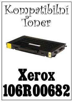 Kompatibilní toner Xerox 106R00682 za bezva cenu 2127 Kč