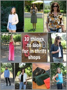 10 Things to Look for in Thrift Shops | The Rich Life On a Budget