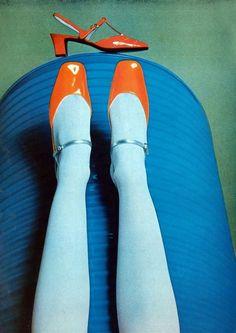 Shoes by Charles Jourdan, Fall 1978. Photo by Guy Bourdin.