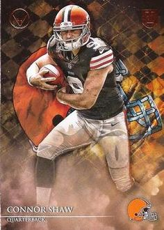 2014 Topps Valor  63 Connor Shaw Front Football Team 69cc0b5fc