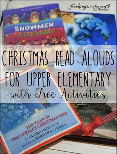 Christmas reading activities - Christmas Read Alouds for Upper Elementary Free Activities – Christmas reading activities Free Activities, Holiday Activities, Reading Activities, Classroom Activities, Classroom Ideas, Holiday Classrooms, Preschool Bulletin, Speech Activities, Kindergarten Classroom