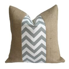 I pinned this Charlotte Pillow I in Gray from the A Bit of Burlap event at Joss and Main!