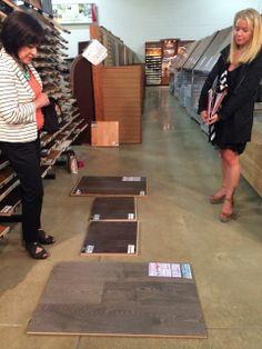 At Floors USA #DesignHomePHL
