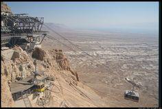 The Masada Cableway, Israel