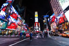 Times Square.   See @shahziasikander's 'Gopi-Contagion' in #TimesSquare this month, nightly @ 11:57pm.