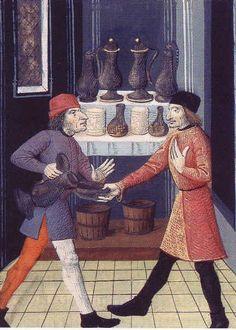 Histoire du vin : l'essor du commerce du vin au Moyen-Age