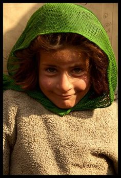Hardship hasn't stolen away the joy of this child from Kabul, Afghanistan.