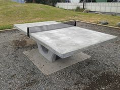Concrete Ping Pong Table   Google Search