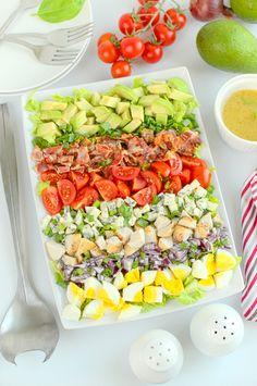 Sałatka Cobb Cobb Salad, Tea Party, Food And Drink, Cooking, Breakfast, Recipes, Impreza, Success, Drinks