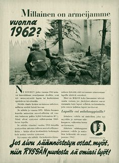 Salakauppa, 1942 Old Commercials, Ancient History, Finland, Retro Vintage, Nostalgia, War, Funny, Poster, Military