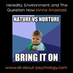 nature vs nurture personality essay Nature vs nurture in psychology essay sample the nature nurture debate within psychology discusses the extent in which heredity (genetic) and the environment separately affect and influence the individual.