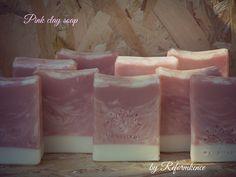pretty pink clay soap