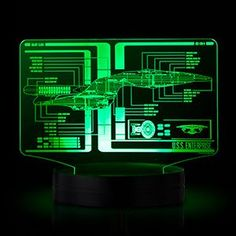 The Star Trek Schematic Illuminated Display makes your inner Starfleet Captain happy, with a USB or battery-powered display that LOOKS LIKE A STARSHIP CONSOLE. We wanted this as kids, but had to make do with what we had.