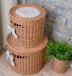 Ольга Носарева Storage Baskets, Wicker Baskets, Home Decor, Interior Design, Home Interior Design, Home Decoration, Decoration Home, Interior Decorating