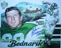 Chuck Bednarik, Philadelphia Eagles Football Legend dies at age 89 on March Eagles Football Team, Go Eagles, Eagles Fans, Fly Eagles Fly, Football Memes, Philadelphia Eagles Players, Philadelphia Sports, Philly Style, Philadelphia