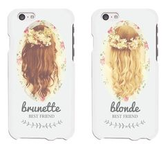 Pin for Later: 15 Matching iPhone and Samsung Cases For You and the BFF Brunette…
