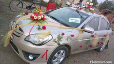 #Beautifull Car Decotaion - Ahmedabad http://www.floretmart.com/
