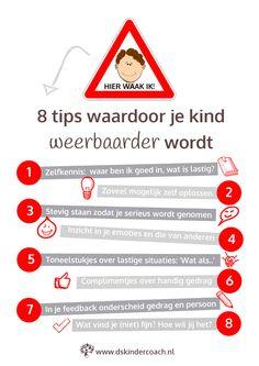 Infographic 8 Tips meer voor weerbaarheid