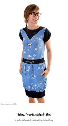 """Kleid """"Noa"""" genäht von Sara&Tom"""