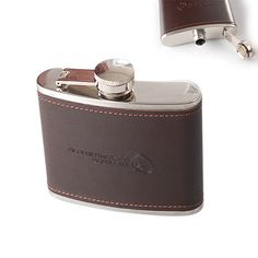 Hip Flask is made of stainless steel.Size is 6oz.It can be carried when you do some outdoor activities or travel in some place.Logo printing is available.