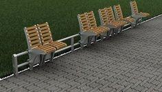 seating (sliding bench) as social experiment #bench #design