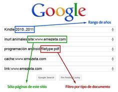 Filtros Busquedas Google