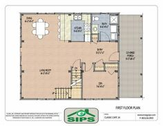 Open concept colonial floor plans google search build for Cape to colonial conversion plans