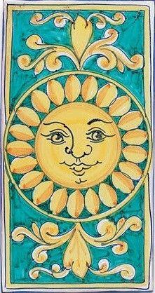 ☯☮ॐ American Hippie Bohemian Psychedelic Art ~ Sun