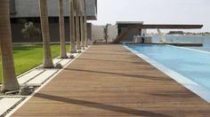Pavimenti in legno per esterni - Ambiente dallo stile ricercato