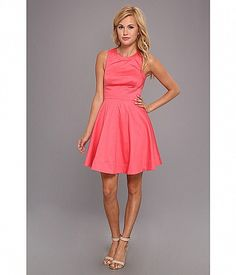 You're party-ready in this flirty French Connection® dress. Cotton fit-and-flare dress in a versa. French Connection Dress, Spring Dresses, Fit And Flare, Bridesmaid Dresses, Bridesmaids, Formal Dresses, My Style, Casual, How To Wear