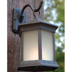 Outdoor GreatRoom Company Wall Mount Solar Lights-Set Of Two