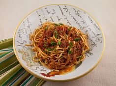 Italian Food Forever » Strangozzi Pasta With Slow Cooker Turkey Ragu