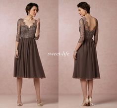 Short Sequin Lace Dress With V Neckline For The Mother Of Bride Or Groom Also A Great Party Holidays