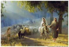 Joseph Brickey - The Road to Bethlehem