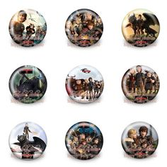 45Pcs Hot to Train Your Dragon 2 Buttons Pins Badges,Round Badges,30MM Diameter,Clothing/Bags Accessories Birthday Party Gifts-in Bag Parts & Accessories from Luggage & Bags on Aliexpress.com | Alibaba Group